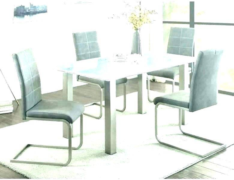 Delightful Cool Glass Top Dining Table Chairs Set Retro Pertaining To Retro Round Glasstop Dining Tables (Image 5 of 25)