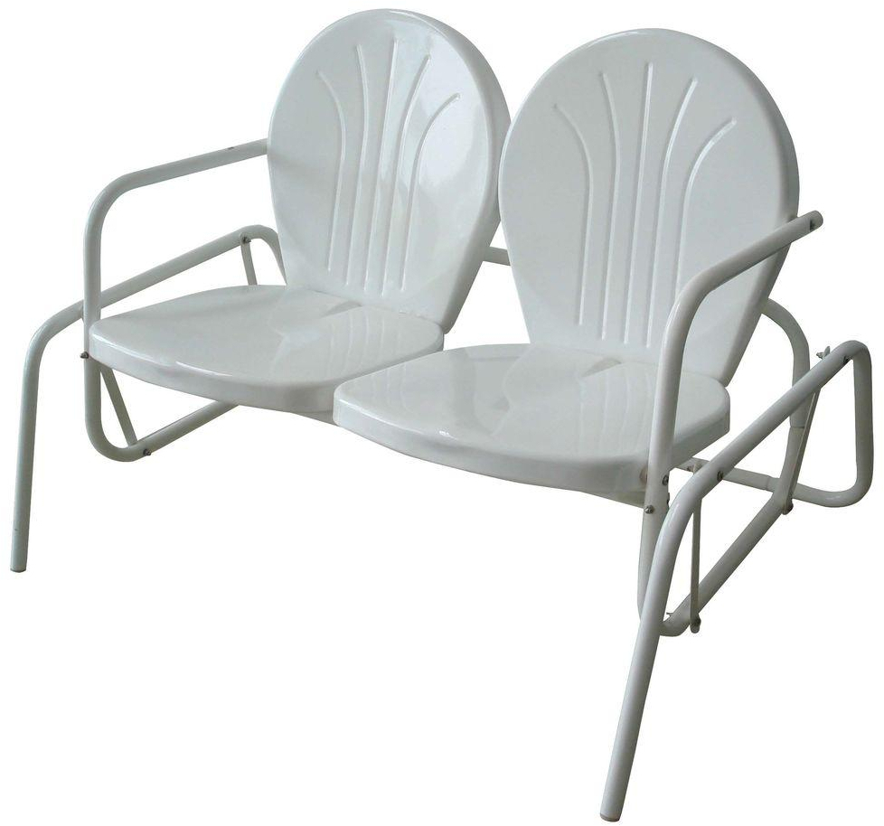 Featured Image of Indoor/outdoor Double Glider Benches