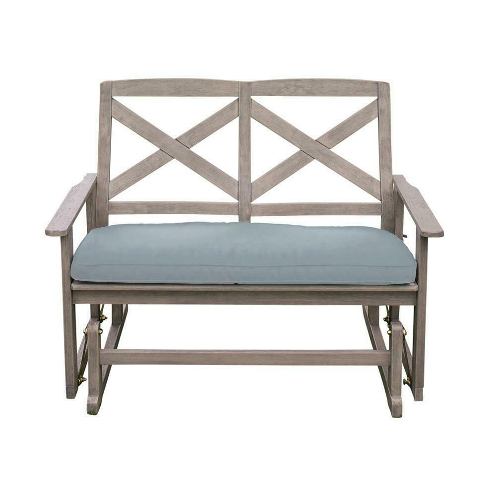Details About Glider Bench Cushion Seat Wood Frame Heavy Duty Weather Resistant Durable Sturdy With Glider Benches With Cushion (View 2 of 25)