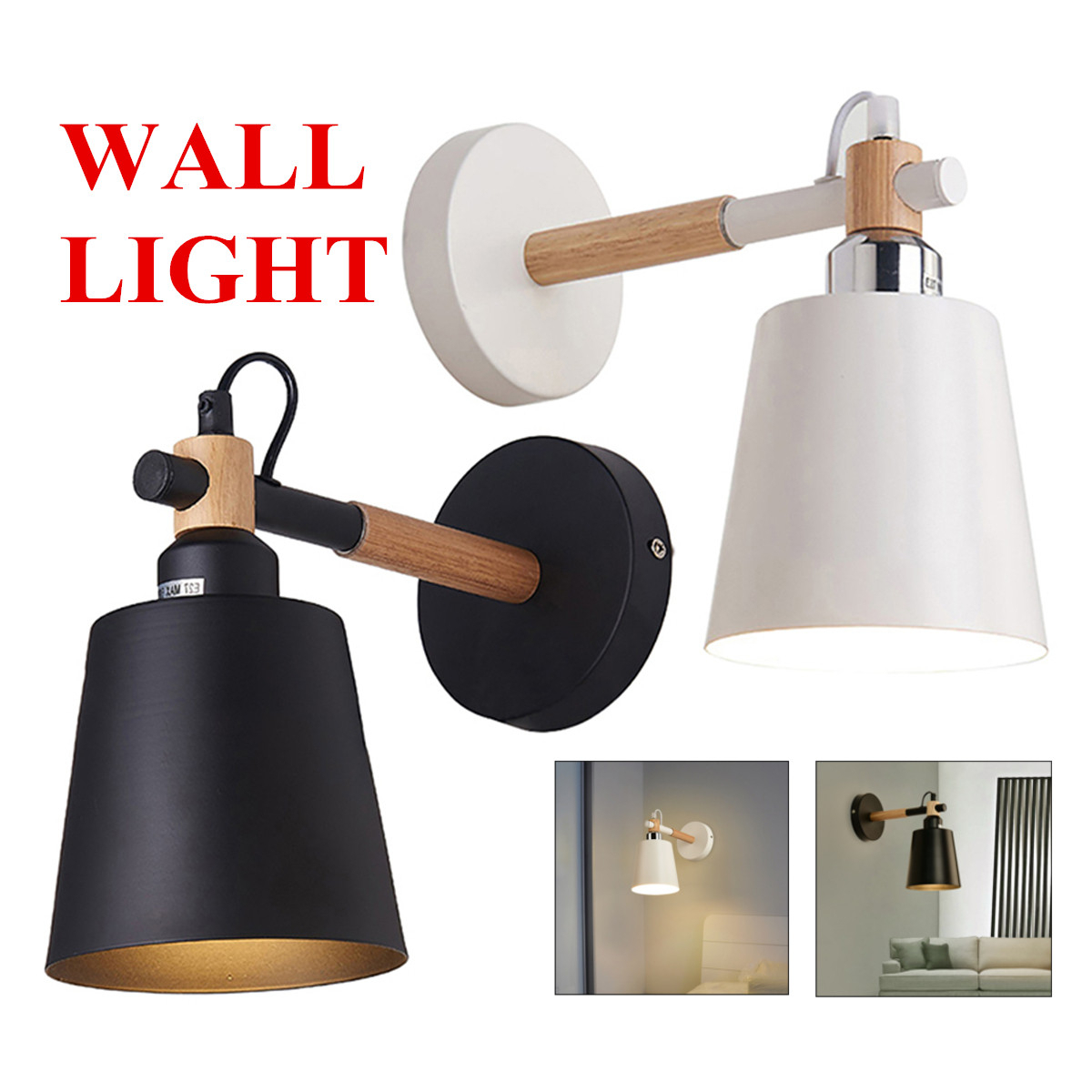 Details About Industrial Wall Light Sconce Lamp Swing Fixture Bedroom Hotel Bedside Retro In Lamp Outdoor Porch Swings (View 12 of 25)