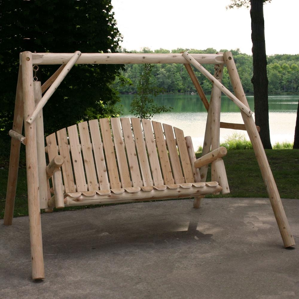 Details About Outdoor Porch Swing Stand Set 54 In (View 2 of 25)