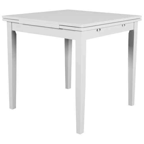 Dillon Contemporary 4 Seating Square Dining Table – White Inside Contemporary 4 Seating Square Dining Tables (View 4 of 25)