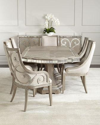 Dining Room Furniture At Horchow In Transitional Antique Walnut Square Casual Dining Tables (View 22 of 25)
