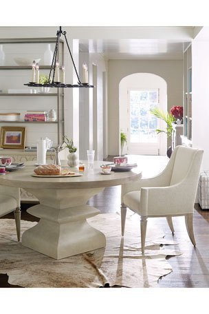 Dining Room Furniture At Neiman Marcus With Regard To Transitional 4 Seating Double Drop Leaf Casual Dining Tables (View 23 of 25)