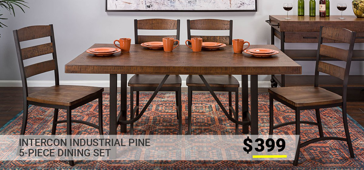 Dining Room Furniture Off Price | The Dump Luxe Furniture Outlet With Regard To Transitional Antique Walnut Square Casual Dining Tables (View 18 of 25)