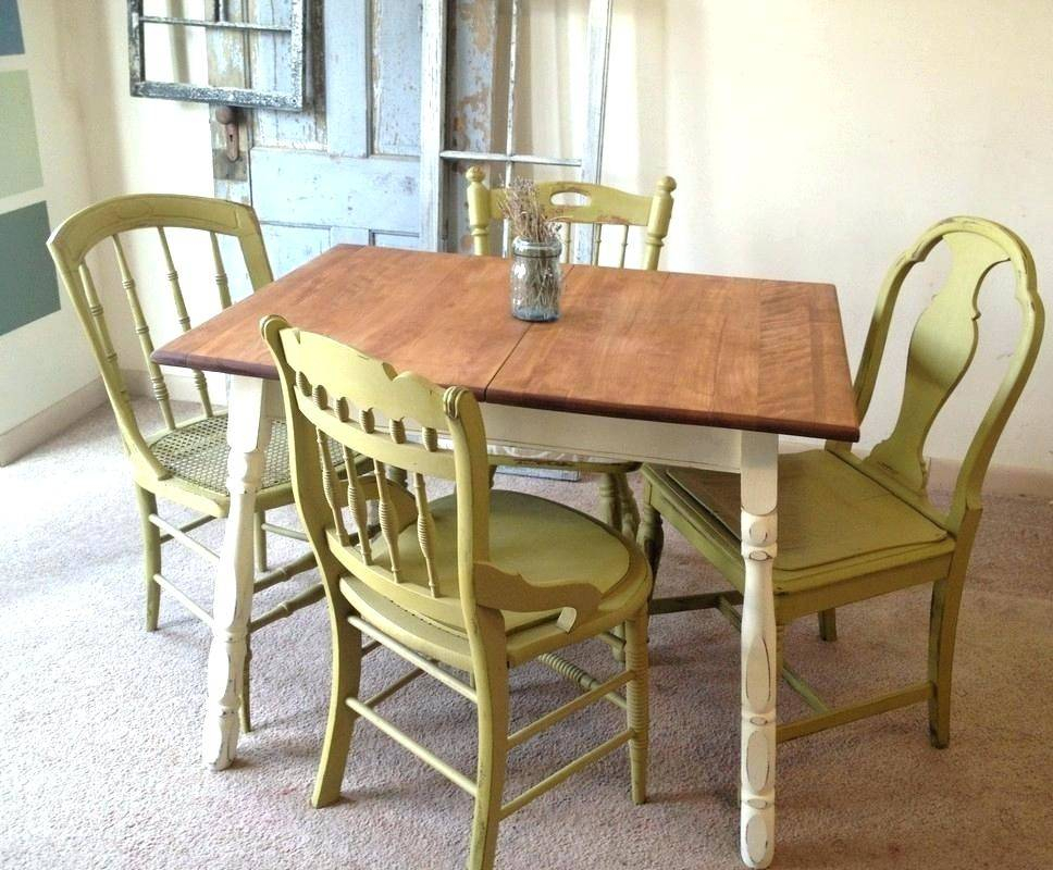 Dining Room Furniture Retro Table Sets Vintage And Chairs Inside Retro Round Glasstop Dining Tables (Image 6 of 25)