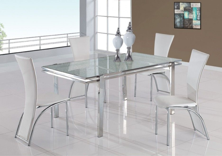 Featured Image of Chrome Contemporary Square Casual Dining Tables