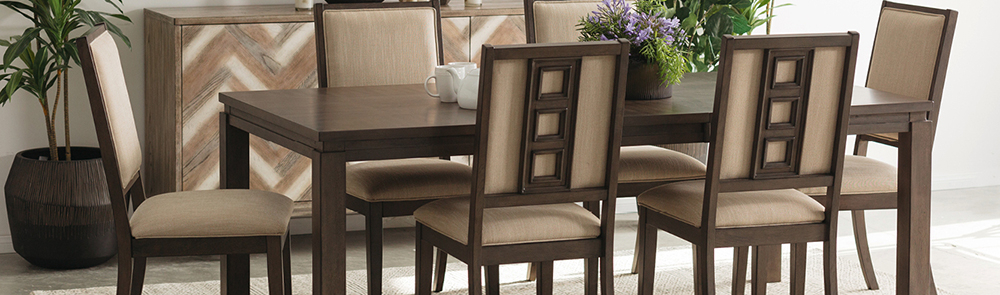 Dining Room Sets & Kitchen Furniture | Mathis Brothers With Regard To Transitional 6 Seating Casual Dining Tables (View 13 of 25)