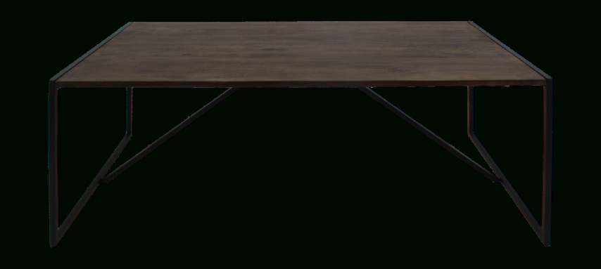 Dining Table – 180X90 Cm – Mango Wood/iron – Antique Finish Pertaining To Iron Dining Tables With Mango Wood (View 21 of 25)