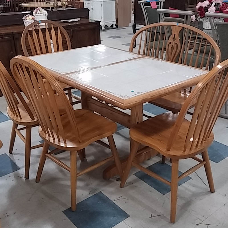 Dining Table And Chairs – Morris Habitat For Humanity Restore Regarding Morris Round Dining Tables (View 25 of 25)
