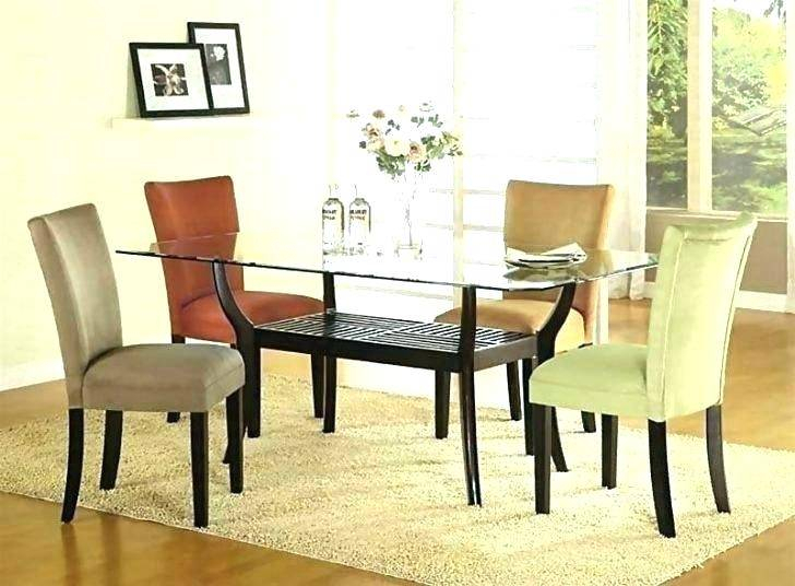 Dining Table Bases For Glass Tops Rectangular Small Kitchen Regarding Rectangular Glasstop Dining Tables (View 21 of 25)
