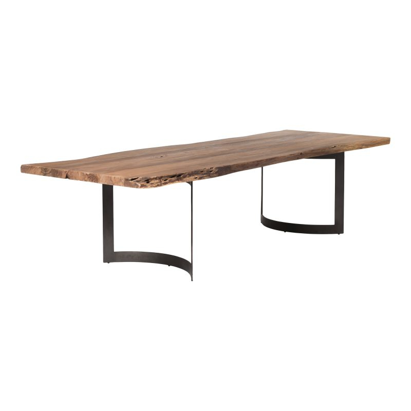 Dining Table & Dinette Sets | Dining Room Table Sets | Moe's In Smoked Oval Glasstop Dining Tables (View 17 of 25)