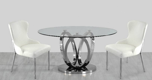 Dining Table, खाना खाने की मेज, Dining Tables Inside Long Dining Tables With Polished Black Stainless Steel Base (View 14 of 25)