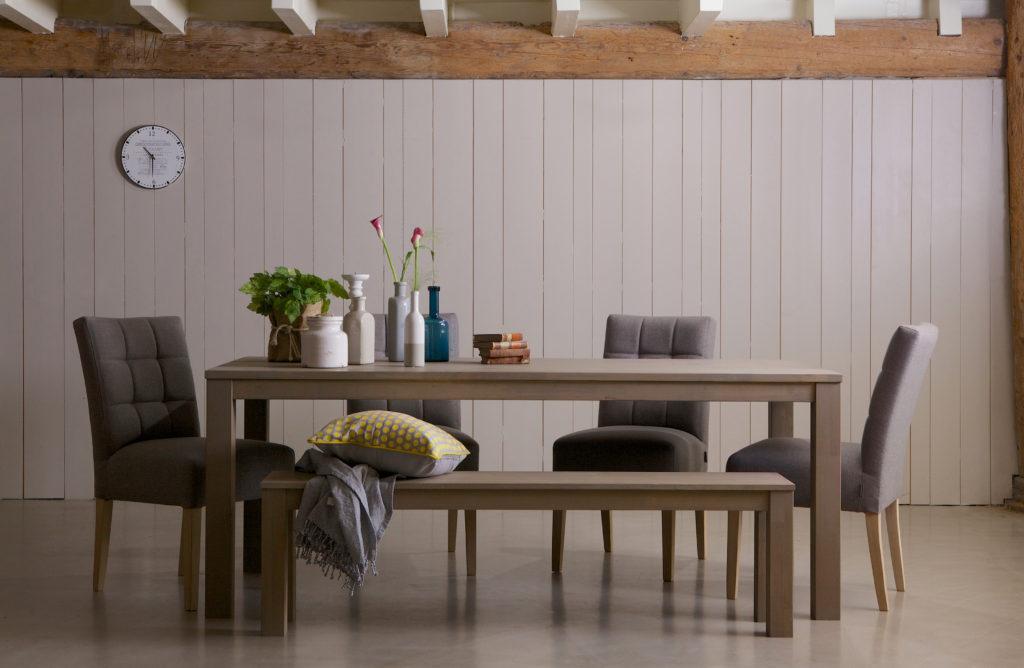 Dining Table Largo   Rectangular   Fumed Regarding Fumed Oak Dining Tables (View 20 of 25)
