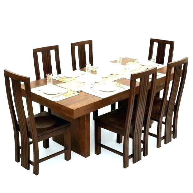 Dining Table Wooden 6 Seater – Ardrossan Pertaining To Contemporary 6 Seating Rectangular Dining Tables (View 7 of 25)