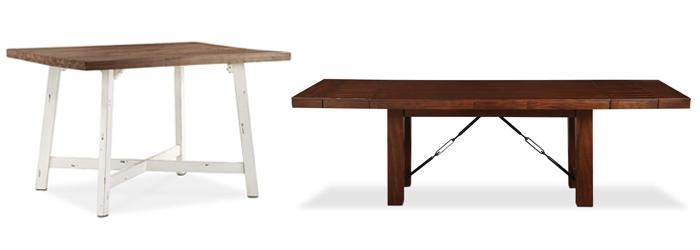Dining Tables To Complete Your Kitchen | The Brick In Rustic Mid Century Modern 6 Seating Dining Tables In White And Natural Wood (View 22 of 25)