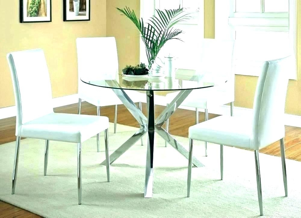 Dinner Table Centerpiece Ideas Round Dining Room Living With Regard To Elegance Large Round Dining Tables (Image 9 of 25)