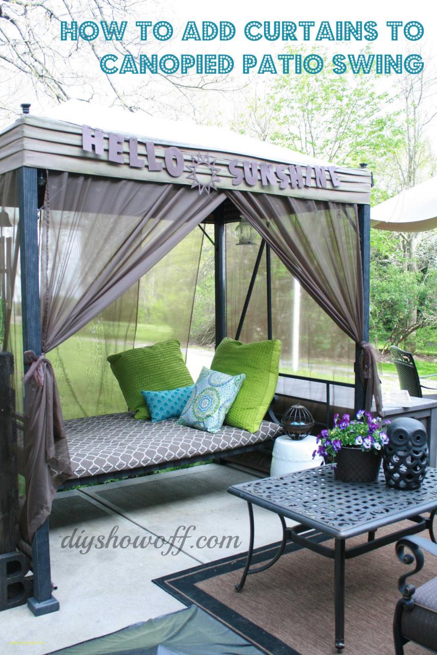 Diy Porch Swing – Build Garden Bench Swing — Procura Home Throughout Patio Gazebo Porch Swings (View 11 of 25)
