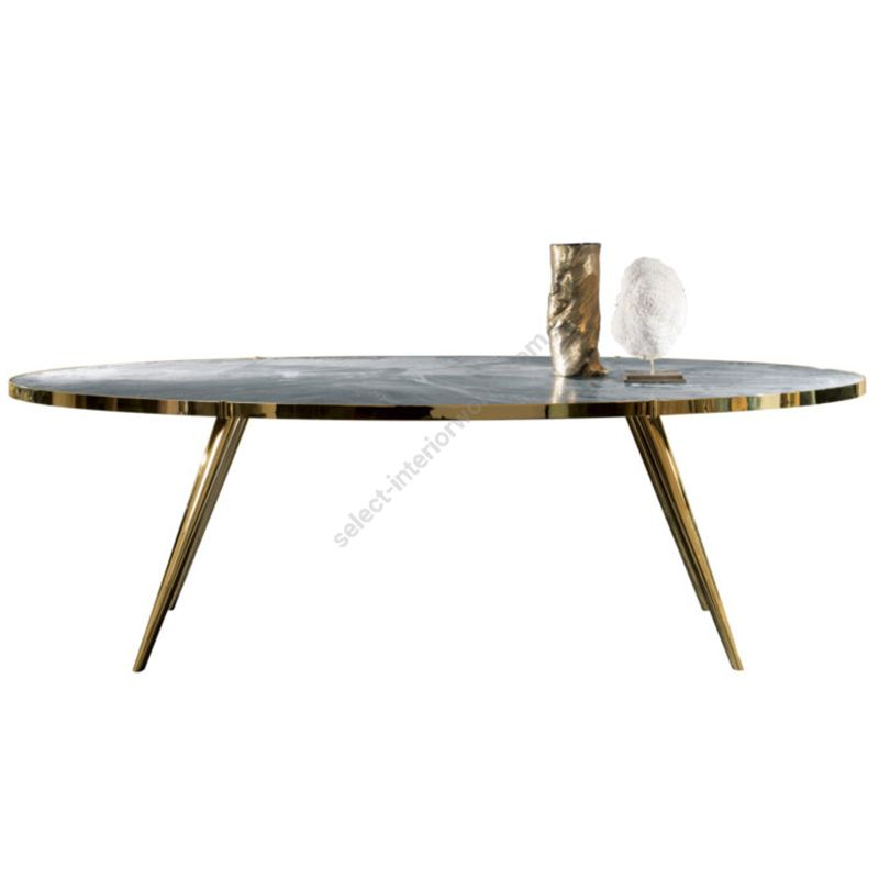 Dom Edizioni / Dinner Table / Jerome Round With Dom Round Dining Tables (Image 10 of 25)