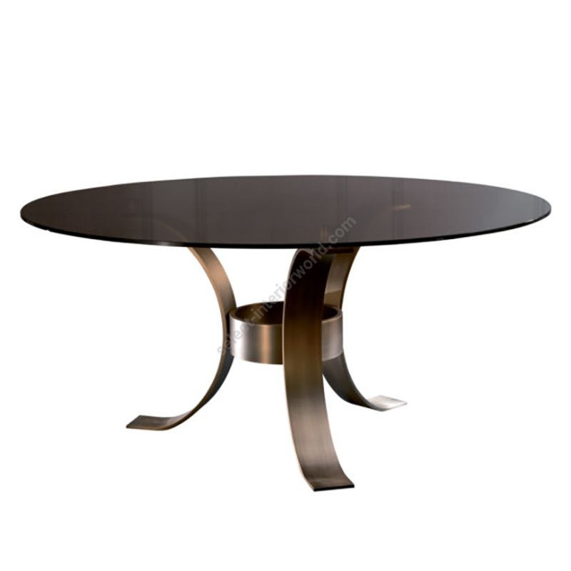 Dom Edizioni / Dinner Table / Massimo Round With Dom Round Dining Tables (Image 11 of 25)