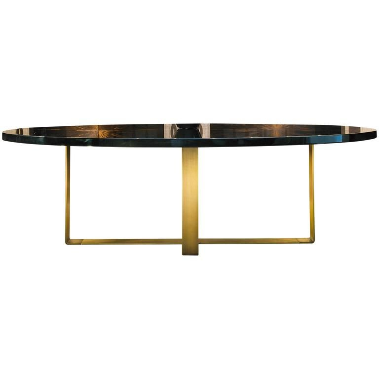 Dom Edizioni Wood,brass Elliptical,round,square,rectangular Intended For Dom Square Dining Tables (Image 7 of 25)