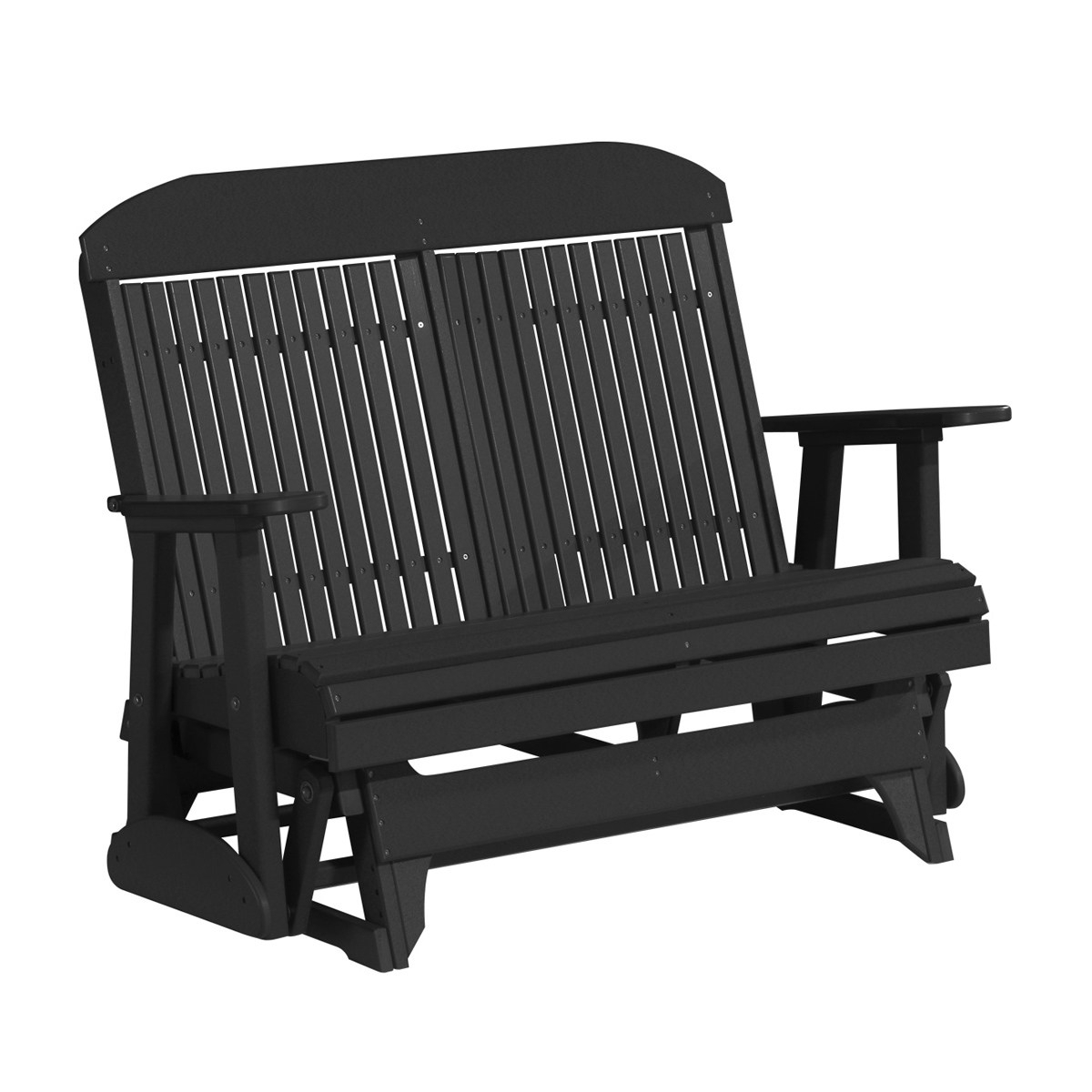 Double Classic Glider | Patio Furniture | Fine Oak Things For Classic Adirondack Glider Benches (View 11 of 25)