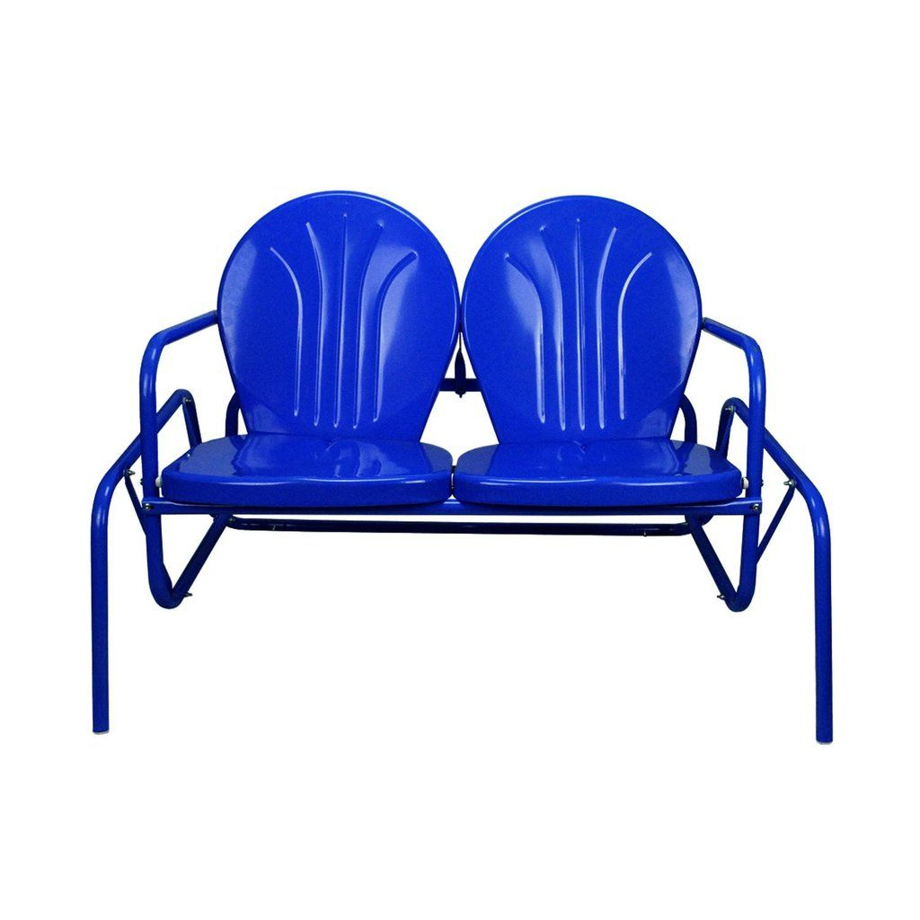 Double Glider Outdoor Chair (View 2 of 25)