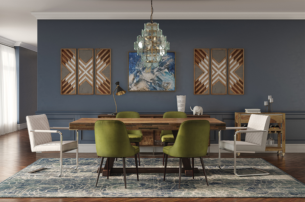 Down To Earth Mid Century Dining – Casaza Throughout Artefac Contemporary Casual Dining Tables (Image 13 of 25)
