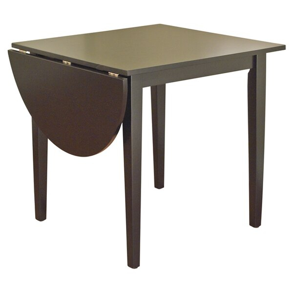Drop Leaf Dining Tables Intended For Transitional 4 Seating Drop Leaf Casual Dining Tables (Image 12 of 25)