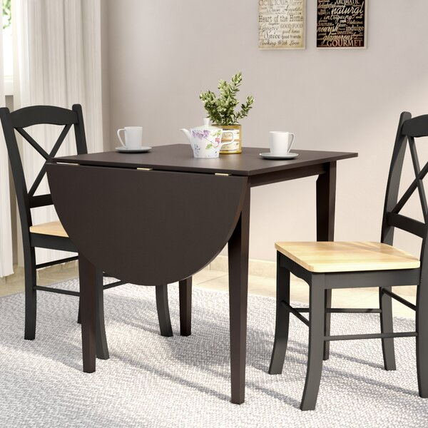Drop Leaf Table With Drawers | Wayfair In Transitional 4 Seating Double Drop Leaf Casual Dining Tables (View 13 of 25)
