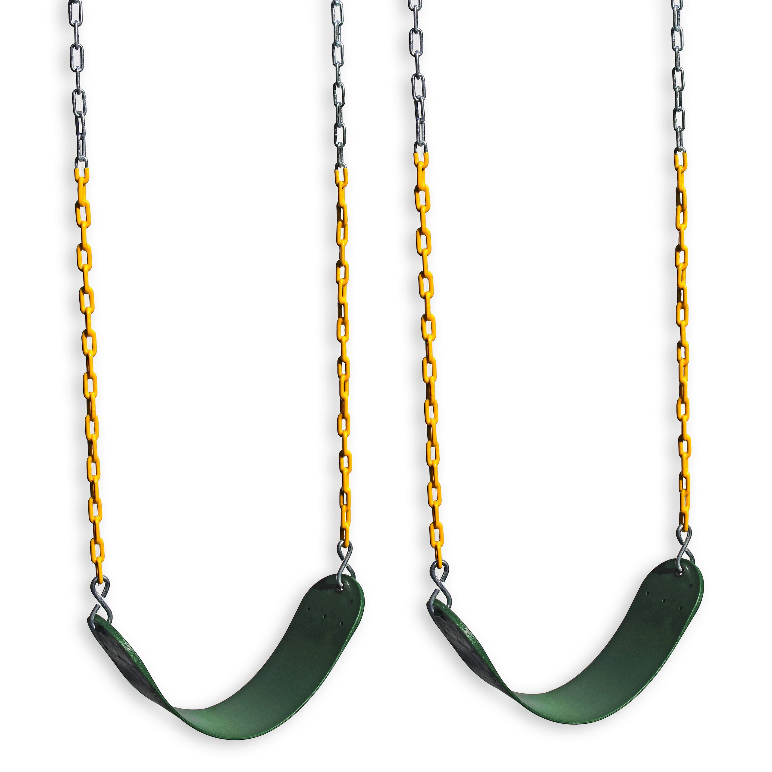 Eastern Jungle Gym Plastic Belt Swing With Chains And Hooks In Swing Seats With Chains (View 7 of 25)
