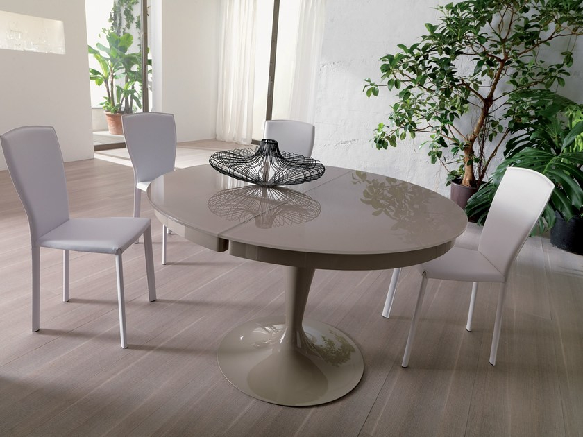 Eclipse | Crystal Tableozzio Italia Within Eclipse Dining Tables (View 12 of 25)