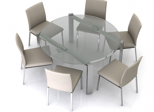 Eclipse Glass Extending Dining Table Uk With Eclipse Dining Tables (View 9 of 25)