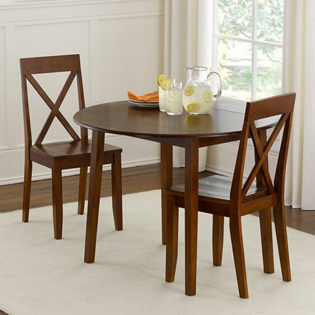 Elegant Small Round Kitchen Table And Chairs Rustic Round Regarding Elegance Small Round Dining Tables (View 9 of 25)