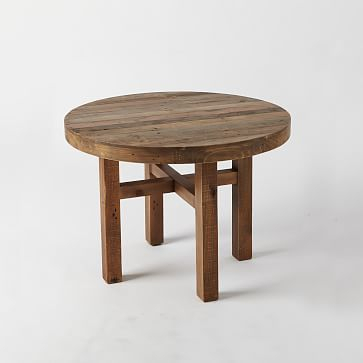 Featured Image of Small Round Dining Tables With Reclaimed Wood