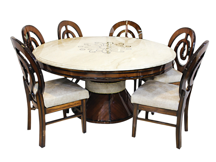 Emporio Round Dining Table Furniture Online – Buy Furniture In Neo Round Dining Tables (Image 5 of 25)