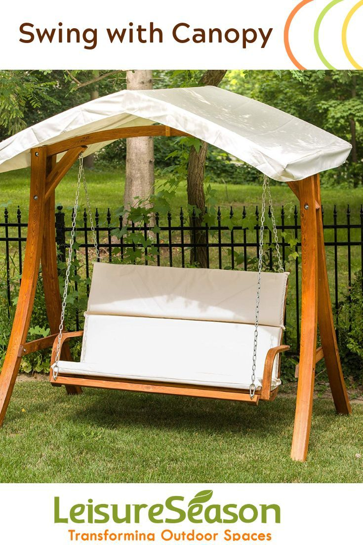 Enjoy Your Backyard With This Couples 2 Seater Garden Swing With Regard To Patio Gazebo Porch Canopy Swings (View 3 of 25)