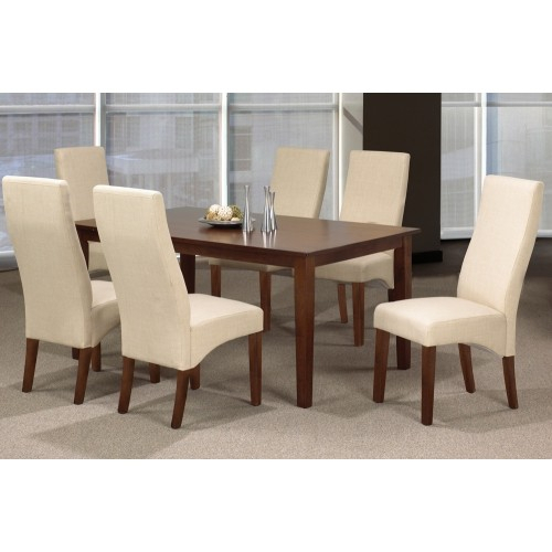 Featured Image of Espresso Finish Wood Classic Design Dining Tables