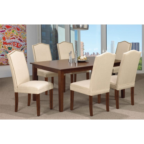 Espresso Finish Wood Classic Design Dining Table Seats 6 For Espresso Finish Wood Classic Design Dining Tables (Image 11 of 25)