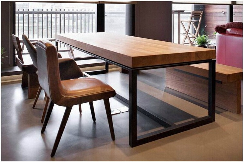 Featured Image of Iron Wood Dining Tables