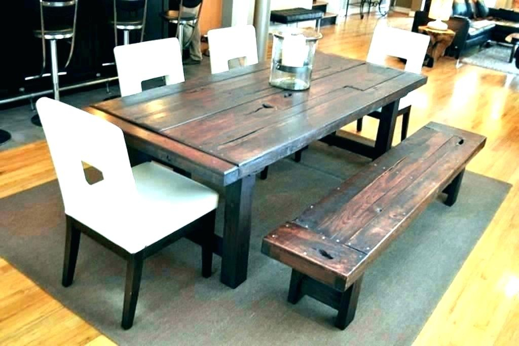 Exciting Rustic Dining Table And Chairs Mismatched Ebay With Small Rustic Look Dining Tables (Image 6 of 25)