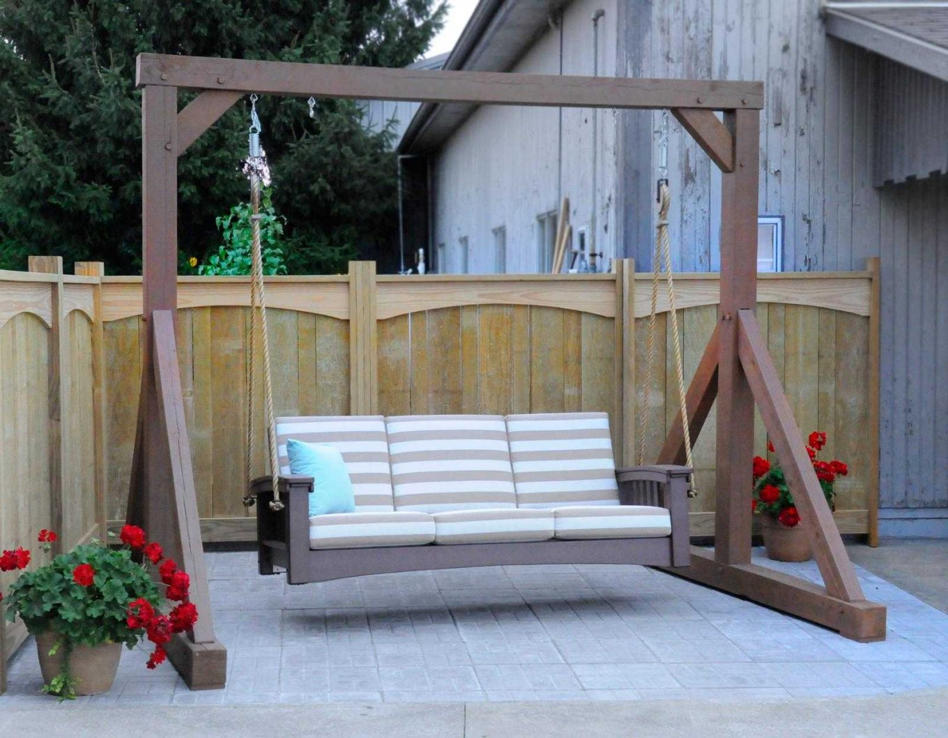 Exotic Standing Porch Swings Hd Home Furniture Ideas Pergola With Pergola Porch Swings With Stand (View 17 of 26)
