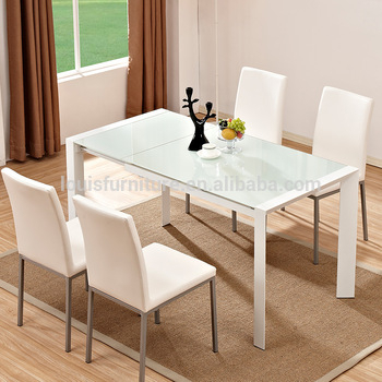 Folding Glass Extension Dining Tables Made In Dongguan Of China – Buy Extendable Dining Table,glass Dining Table,glass Table Product On Alibaba With Extension Dining Tables (View 17 of 25)