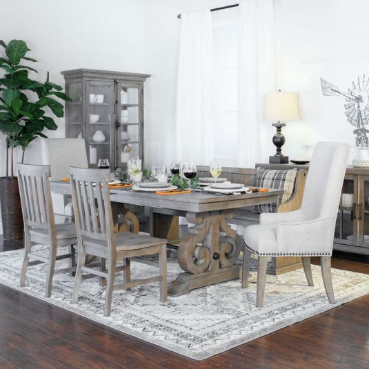Formal & Casual Dining Room Furniture Sets | Jerome's Inside Rustic Country 8 Seating Casual Dining Tables (View 22 of 25)