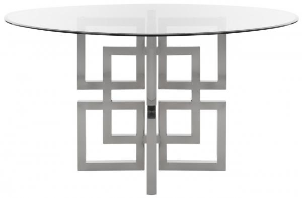 Fox9052A 2Bx – Safavieh Within Long Dining Tables With Polished Black Stainless Steel Base (View 10 of 25)