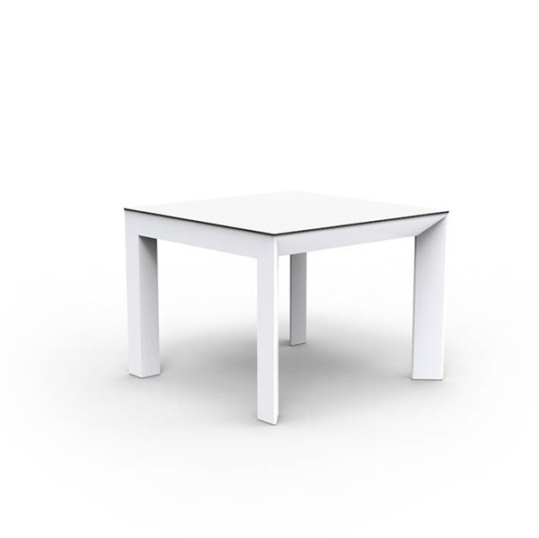Frame Aluminium 100X100Cm Dining Table With Dom Square Dining Tables (Image 11 of 25)