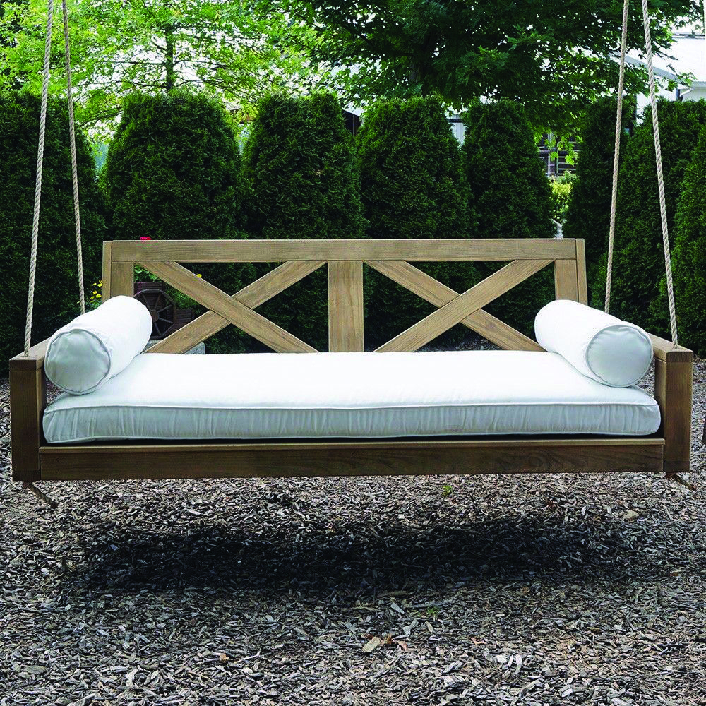 Free Do It Yourself Patio Swing Plans & Suggestions To Chill For Patio Hanging Porch Swings (View 17 of 25)