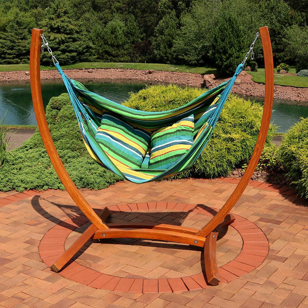 Freeport Park Barrett Hanging Hammock Chair Porch Swing With In Outdoor Wicker Plastic Half Moon Leaf Shape Porch Swings (View 2 of 25)