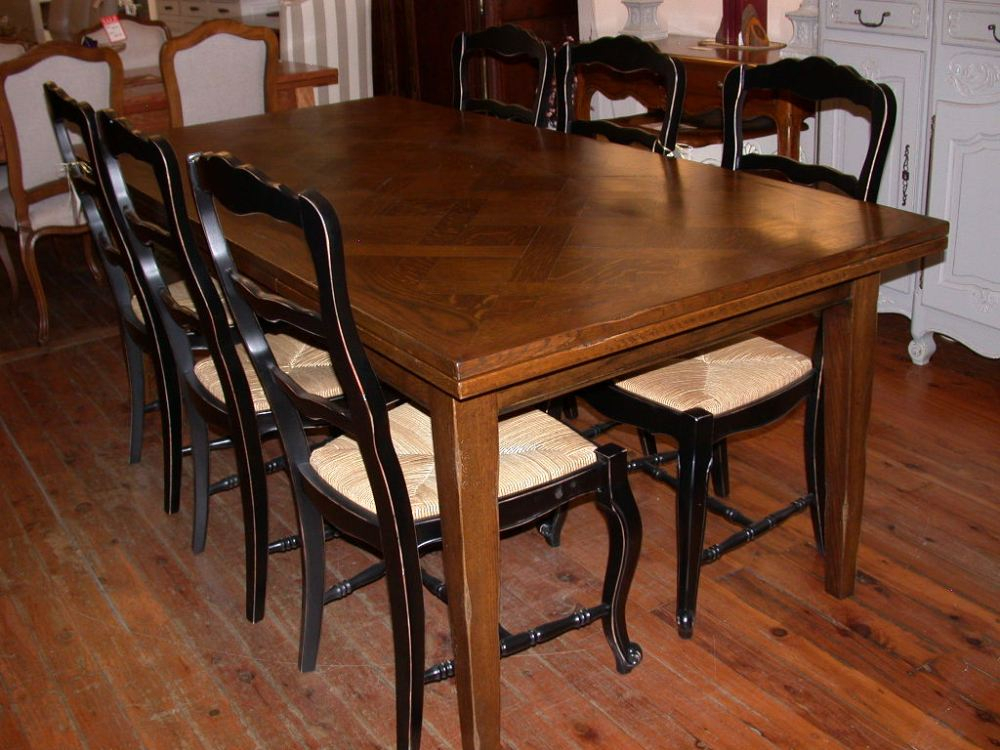 French Provincial Style Provence Extension Dining Table Intended For Provence Accent Dining Tables (Image 9 of 25)