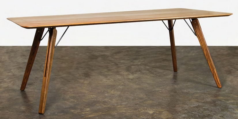 Fumed Oak Dining Table Pertaining To Fumed Oak Dining Tables (View 4 of 25)